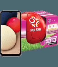 MIX BOX Samsung Galaxy A02s + piłka mistrzów
