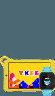 Alcatel TKEE Kids + TCL FamilyWatch MT40 niebieski