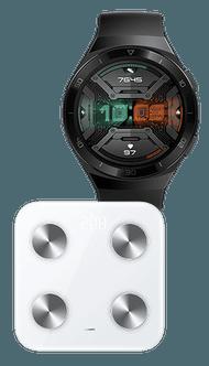 Huawei Watch GT 2e + Huawei Scale 3